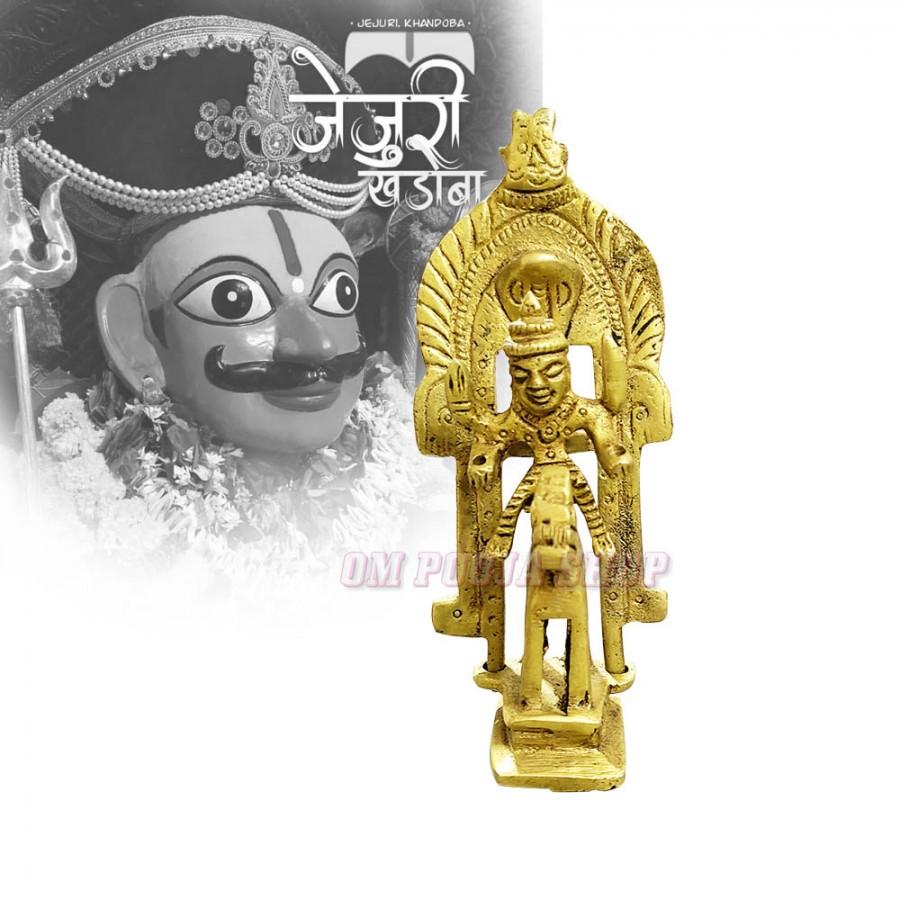 Temple pendant depicting Kandoba from India