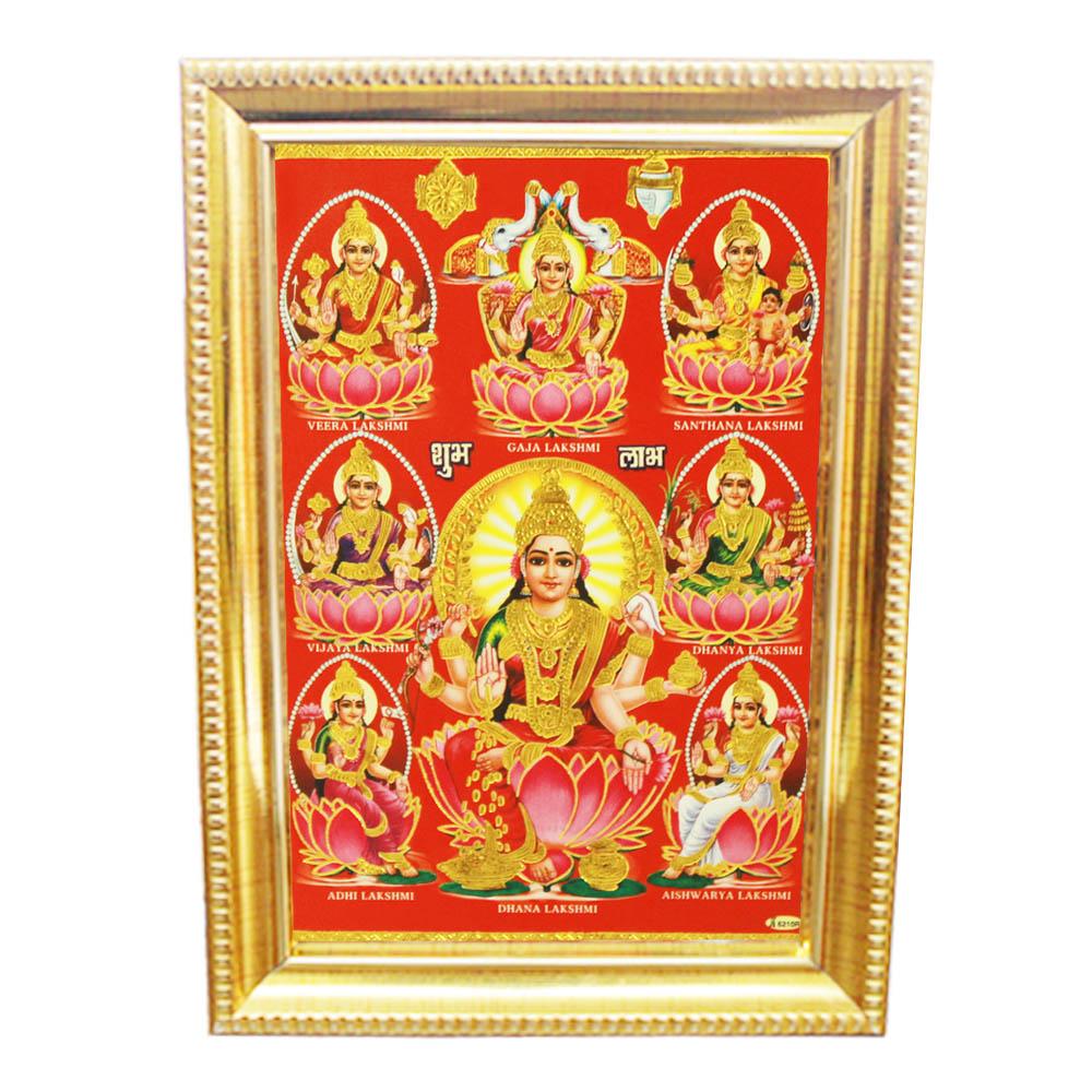 Ashtalakshmi in Photo Frame