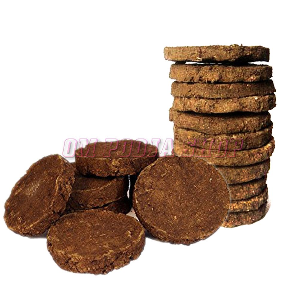 cow dung cakes uses