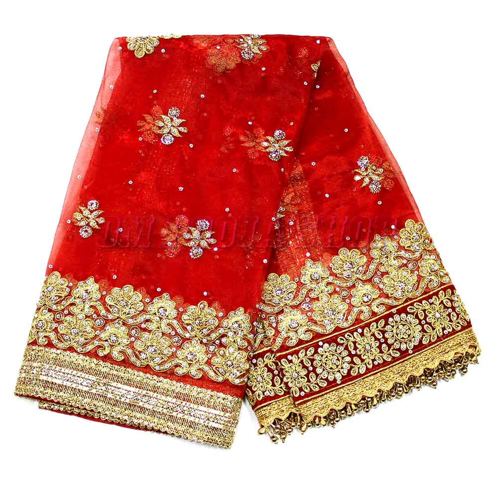 Dulhan Perfection Embroidery Chunari