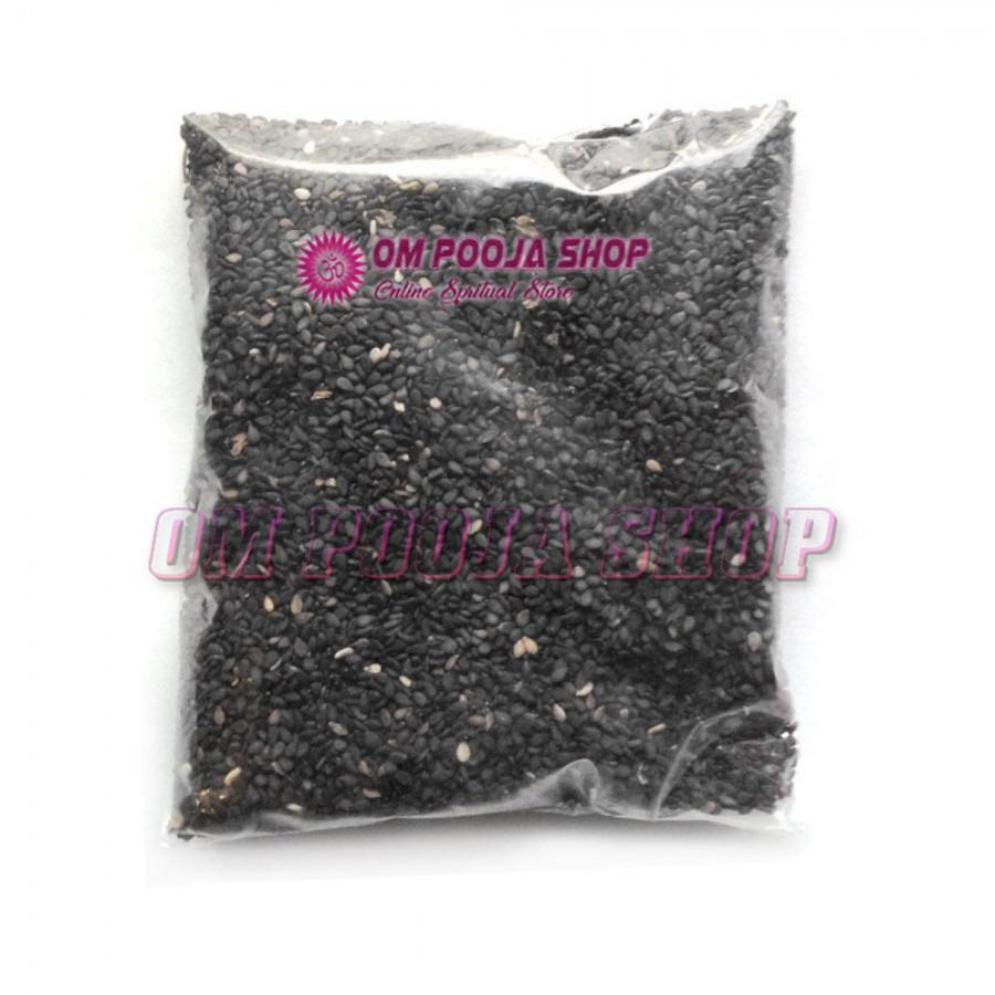 Black Sesame Seeds (Til) for Worship and Health