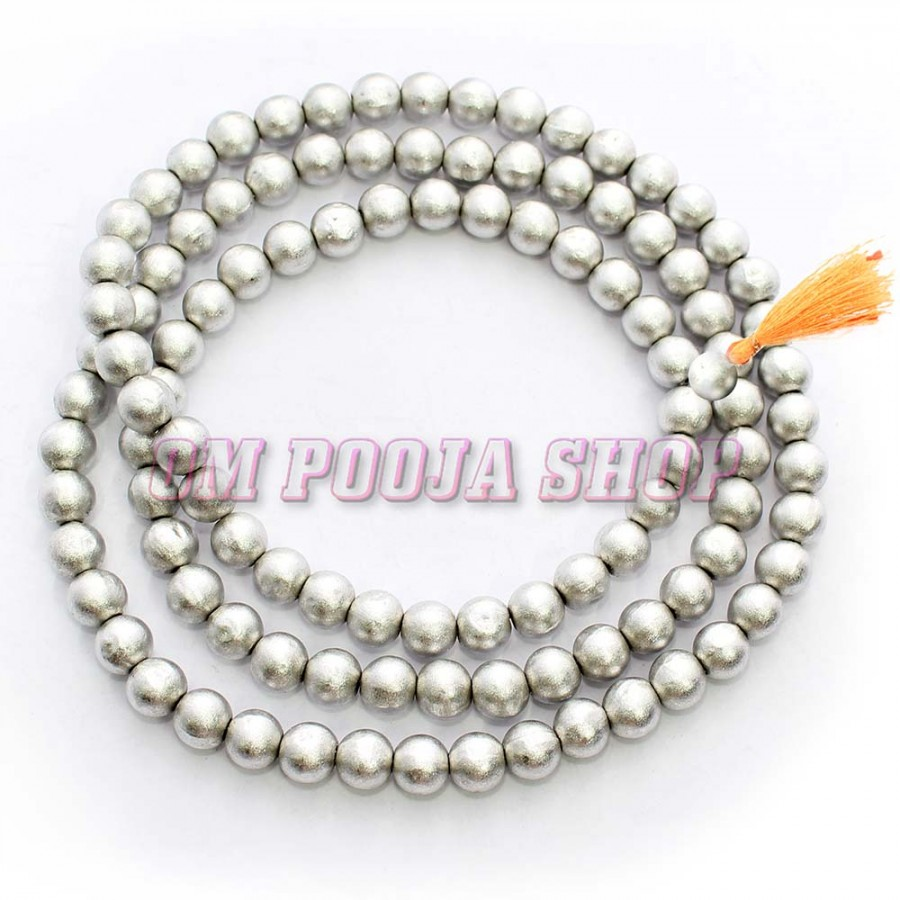 500 beads - 12 x 7mm each Aroma Large jasmine scented Rosary Beads