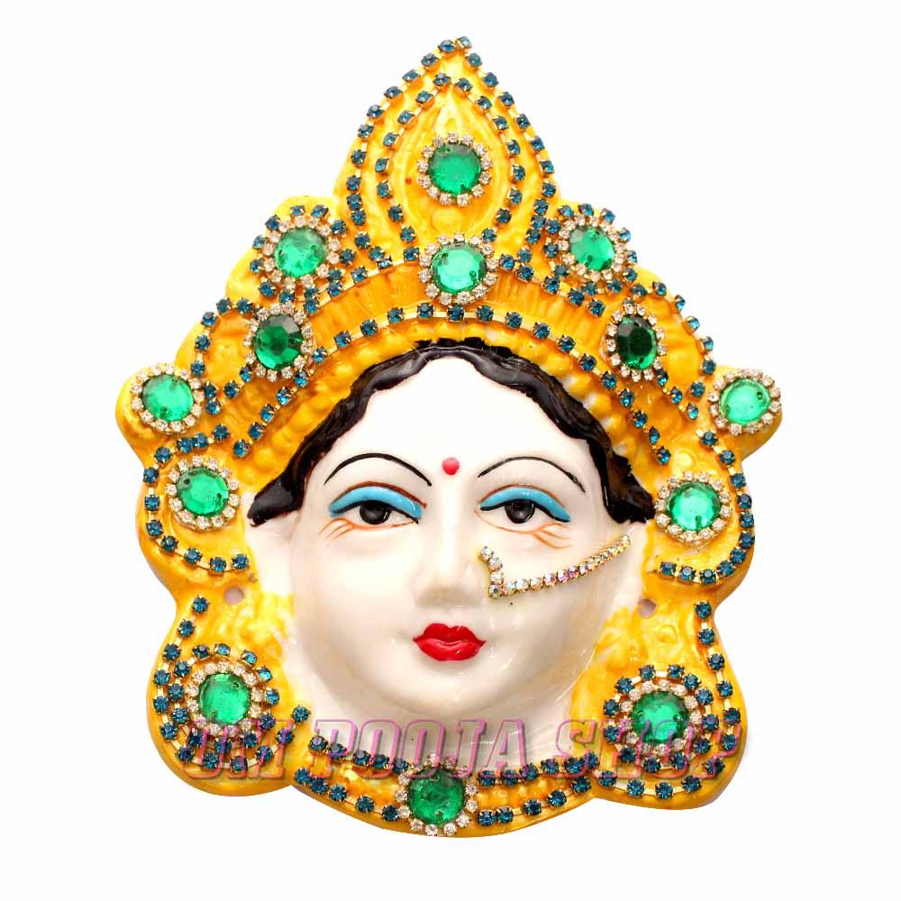 Goddess Mahalakshmi Mukhavada (Face)