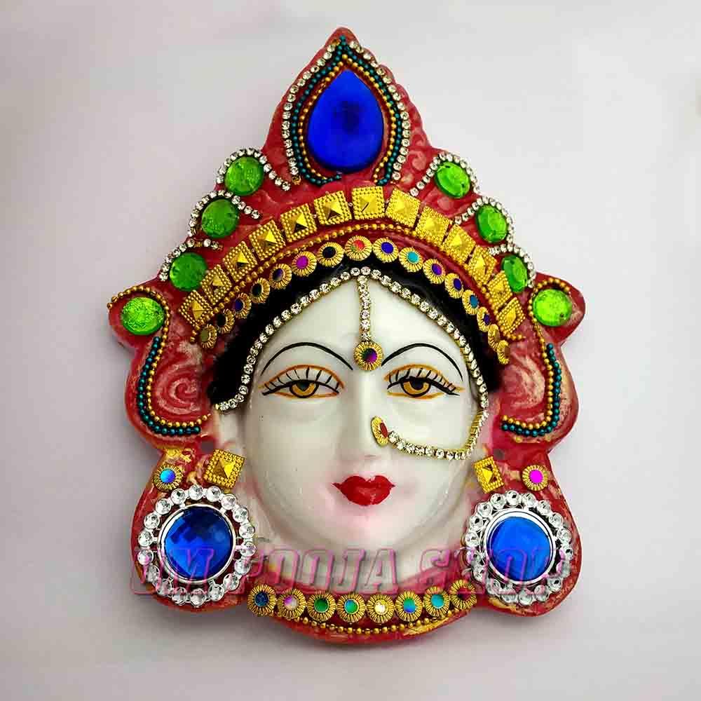 Kamakshi Laxmi Mask (Face) for Worship