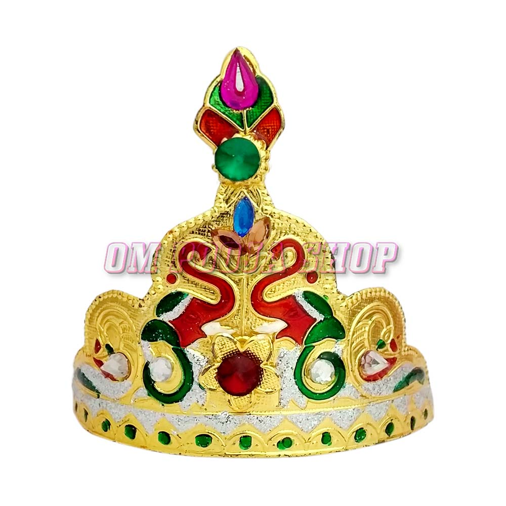 Gaj Laxmi Design Golden Crown