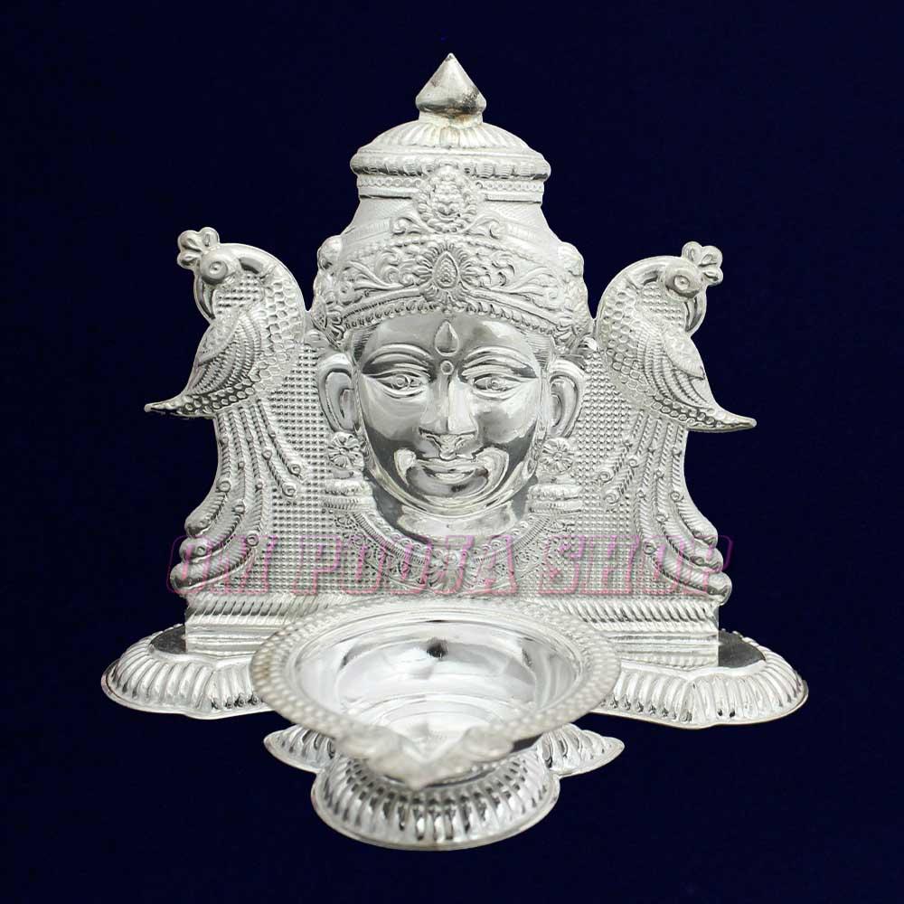 Mahalakshmi Deepam Diya in Sterling Silver